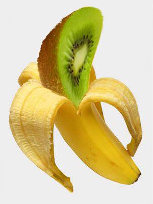Engorroso de comer el kiwátano, dadas sus dos cáscaras.